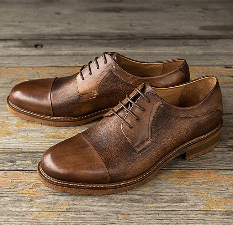 italian mens leather shoes and bag set 2019 best-selling dress shoes