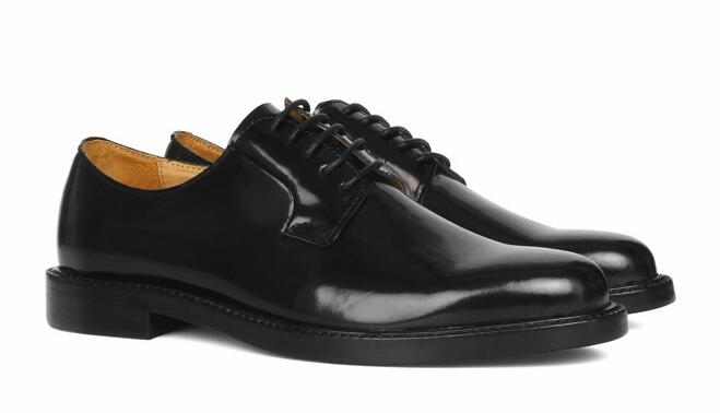 Round Toe Derby Oxford Lace up shoes